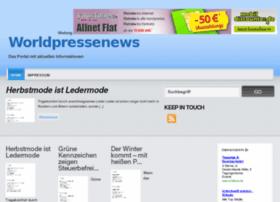 Worldpressenews.de thumbnail
