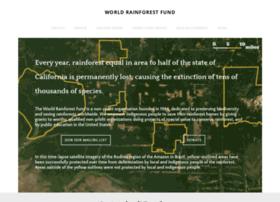 Worldrainforest.org thumbnail