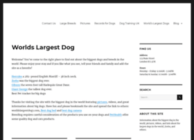 Worldslargestdog1.com thumbnail