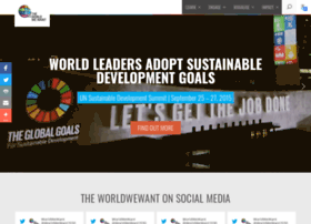 Worldwewant2030.org thumbnail