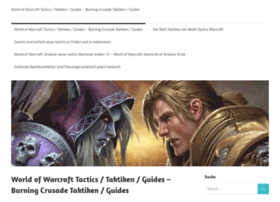 Wow-tactics.de thumbnail