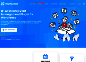 Wp-eventmanager.com thumbnail