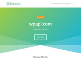 Wpapi.com thumbnail