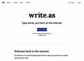 Write.as thumbnail