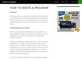 Writeaprogram.info thumbnail