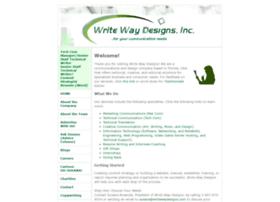 Writewaydesigns.com thumbnail