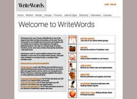 Writewords.org.uk thumbnail