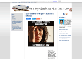 Writing-business-letters.com thumbnail