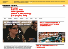 Ww2.newschool.edu thumbnail