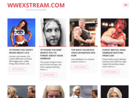 Wwexstream.com thumbnail