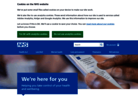 Www.nhs.uk thumbnail