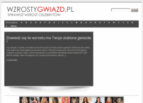 Wzrostygwiazd.pl thumbnail