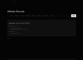 Xmedia-recode.de thumbnail