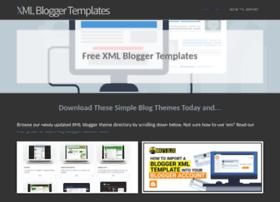 Xmlbloggertemplates.com thumbnail