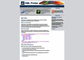 Xmlprinter.com thumbnail