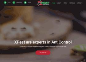 Xpest.co.za thumbnail