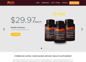 Xtremenodirect Com At Wi Xtreme No Dietary Health Supplement
