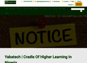 Yabatech.edu.ng thumbnail