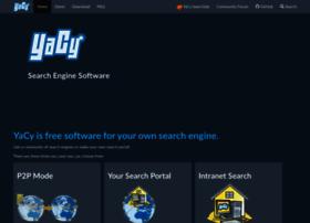 Yacy-websearch.net thumbnail