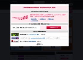 Yamahamusicdata.jp thumbnail
