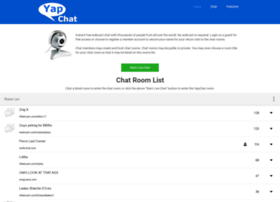 yapchat.com at WI. Instant Video Chat - Home | YapChat.com