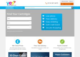 Yescartridges.co.uk thumbnail