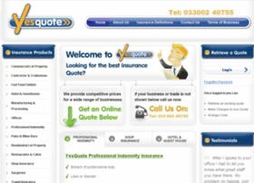 Yesquote.co.uk thumbnail