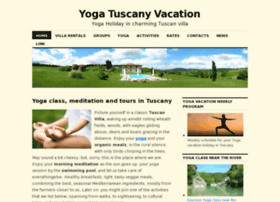 Yoga-tuscany-vacation.com thumbnail