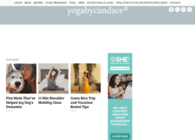 Yogabycandace.com thumbnail