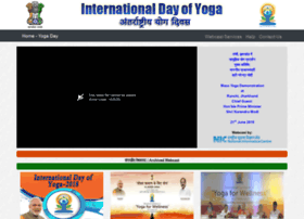 Yogaday.nic.in thumbnail