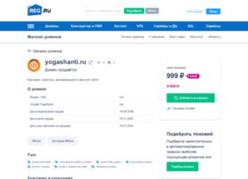 Yogashanti.ru thumbnail