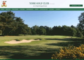 Yorkgolfclub.co.uk thumbnail