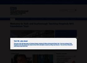 Yorkhospitals.nhs.uk thumbnail