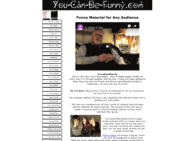 You-can-be-funny.com thumbnail