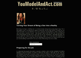 You Model And Act Reviews >> Youmodelandact Com At Wi Acting And Modeling You Model And