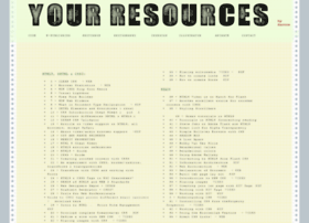 Your-resources.net thumbnail