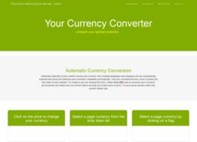 Yourcurrencyconverter.com thumbnail