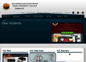 Yuc.edu.sa thumbnail