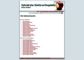 Zahnaerzte-kieferorthopaedie.de thumbnail