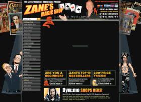 Zanesmagicshop.com thumbnail