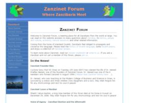 Zanzinet.org thumbnail