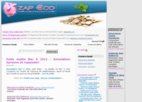 Zap-eco.fr thumbnail