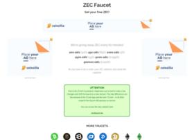 Zcashfaucet.info thumbnail
