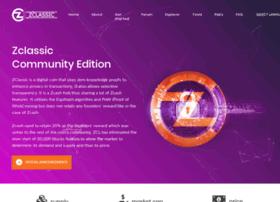Zclassic-ce.org thumbnail