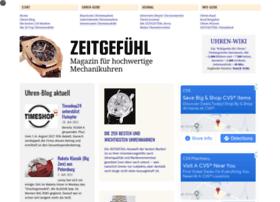 Zeitgefuehl.de thumbnail