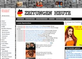 Zeitungenheute.de thumbnail