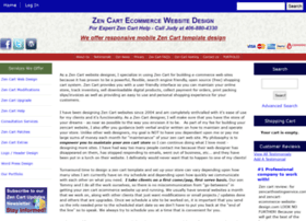 Zencart-ecommerce-website-design.com thumbnail