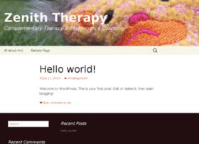 Zeniththerapy.co.uk thumbnail