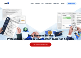 Zety Com At Wi Zety Online Resume Maker Quick Effective Try