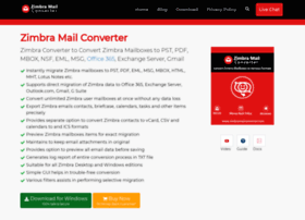Zimbramailconverter.com thumbnail